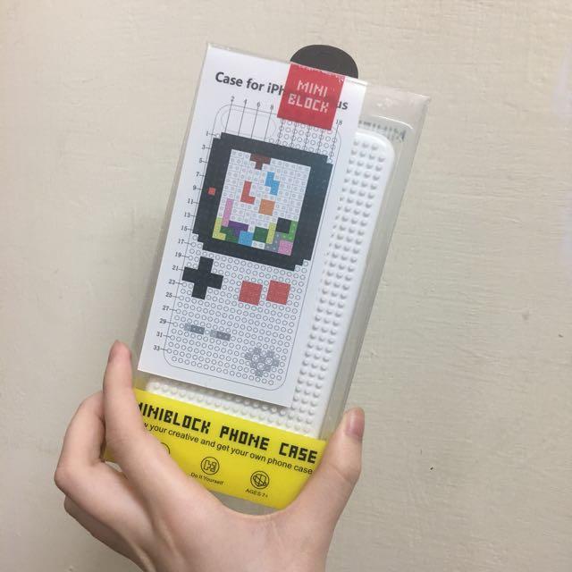 🌟復古遊戲機DIY積木手機殼