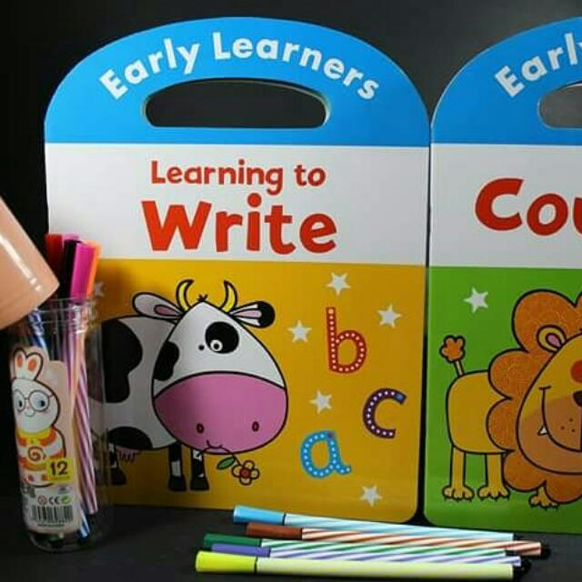 Early Learner's Activity Book WitH pens