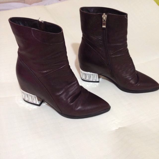 F21 inspired boots