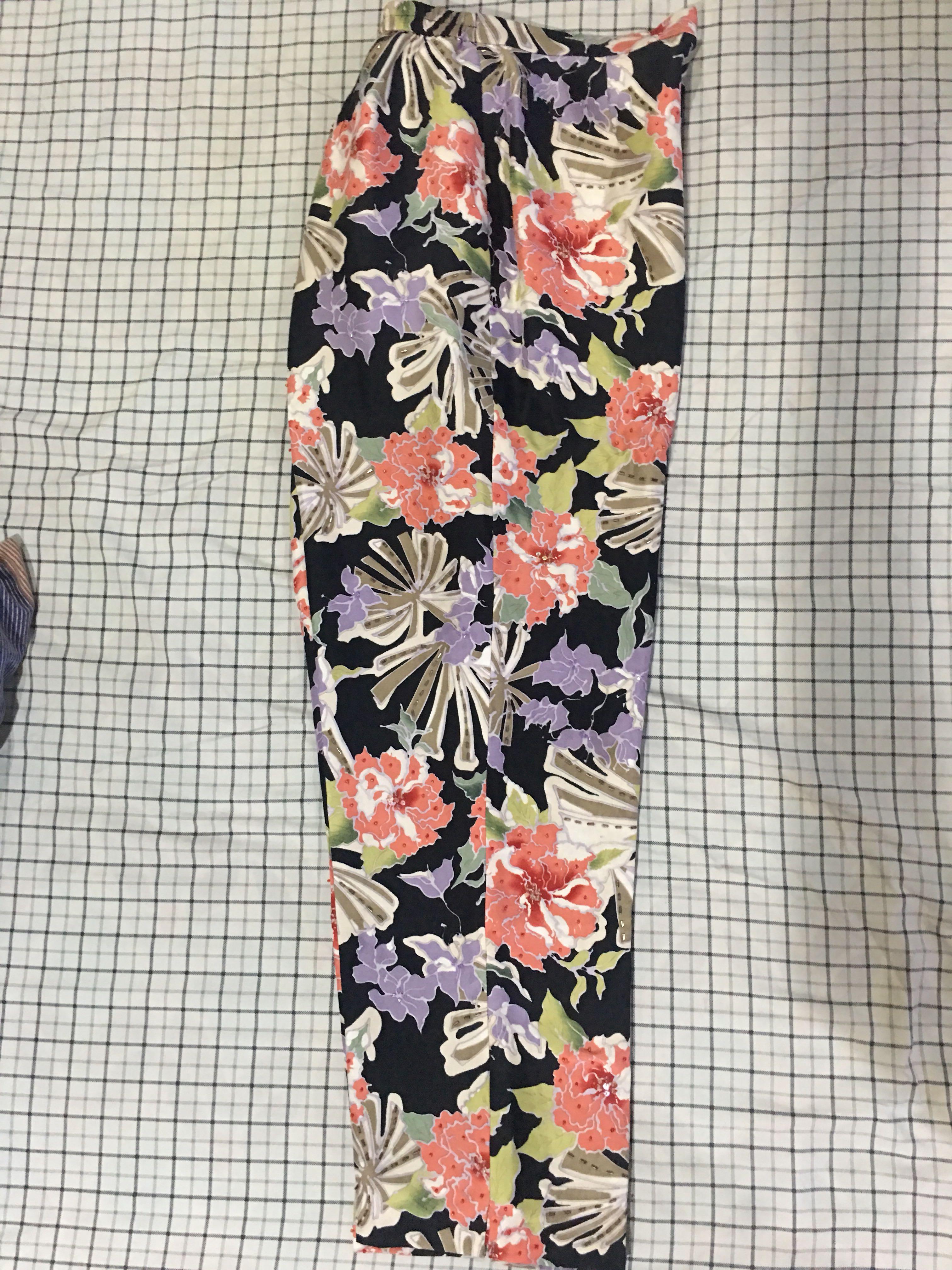 Fancy Floral Pants