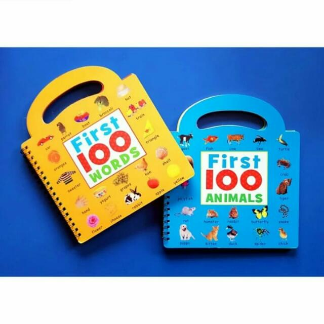 First 100 words And First 100 Animals