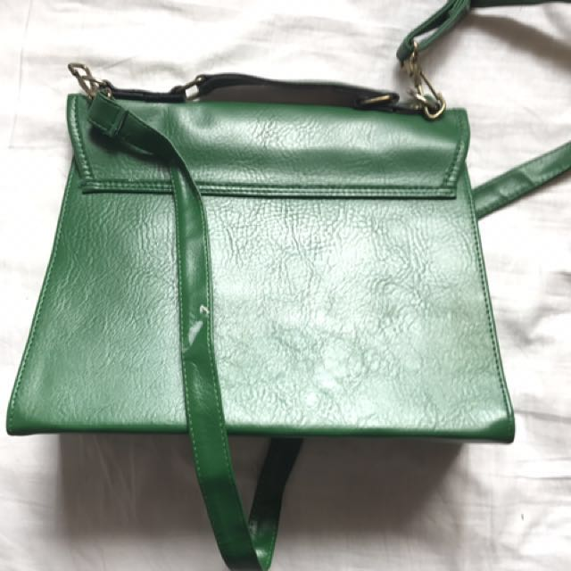 Green Side Bag
