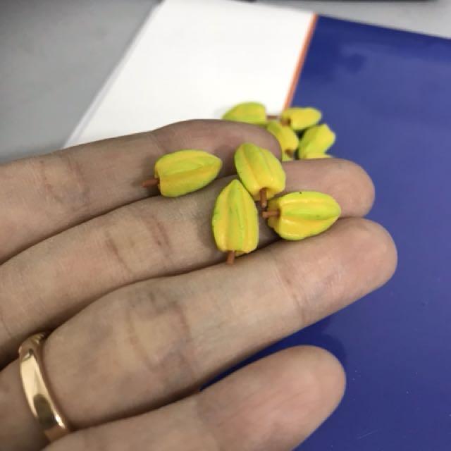 Handmade Miniature Star fruits (6 pcs @ $3)