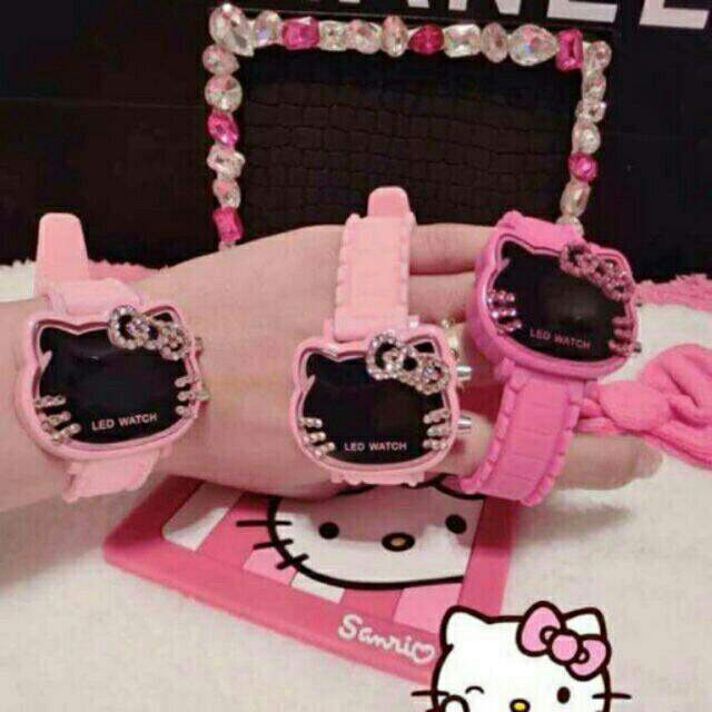 Hello Kitty Led Watch