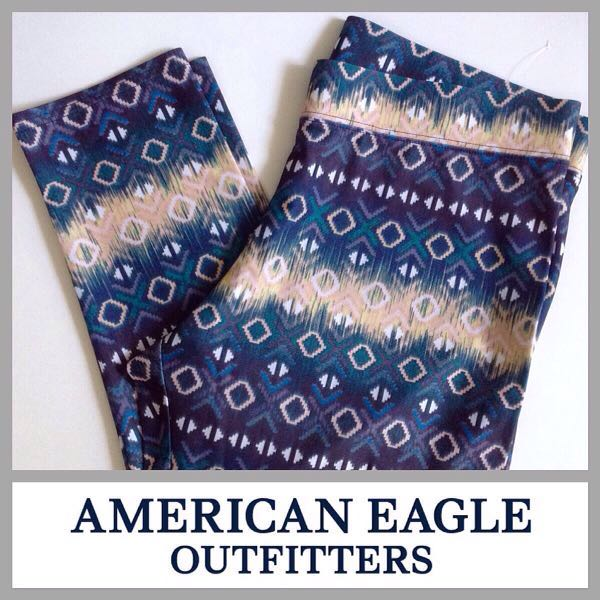 High Waist Aztec Leggings American Eagle Outfitters