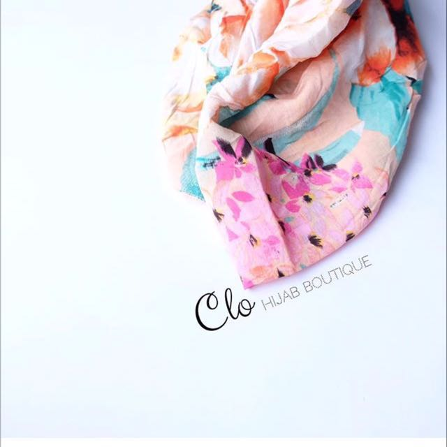 HIJAB COTTON SILK