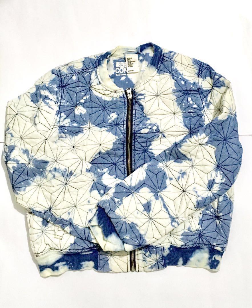 H&M Conscious Denim Bomber Jacket