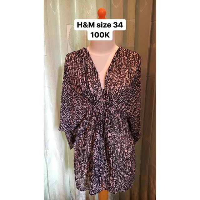 H&M dress and blouse