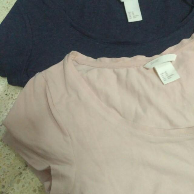 H&M Shirts 2pcs