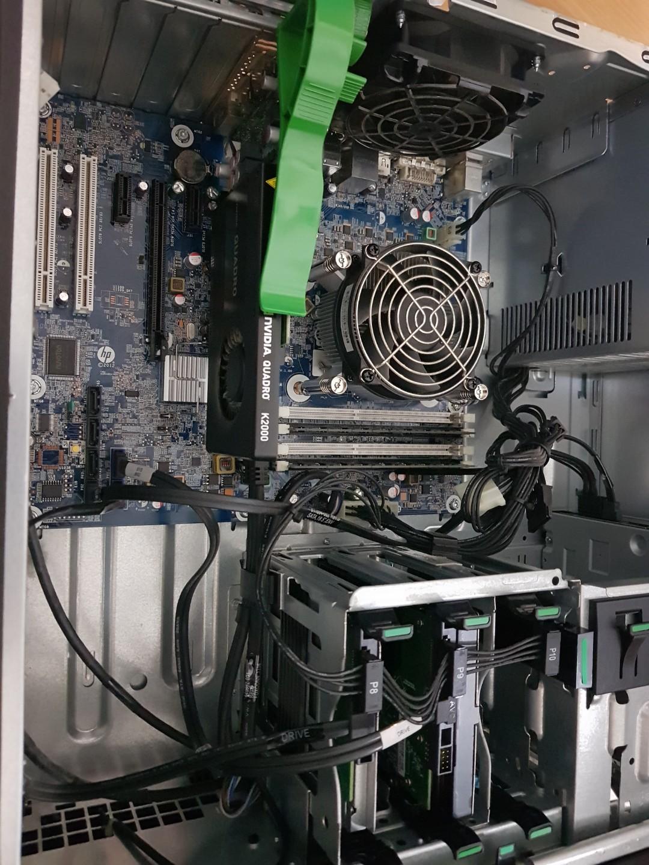 Hp Workstation /Gaming Xeon SSD Nvidia DDR5