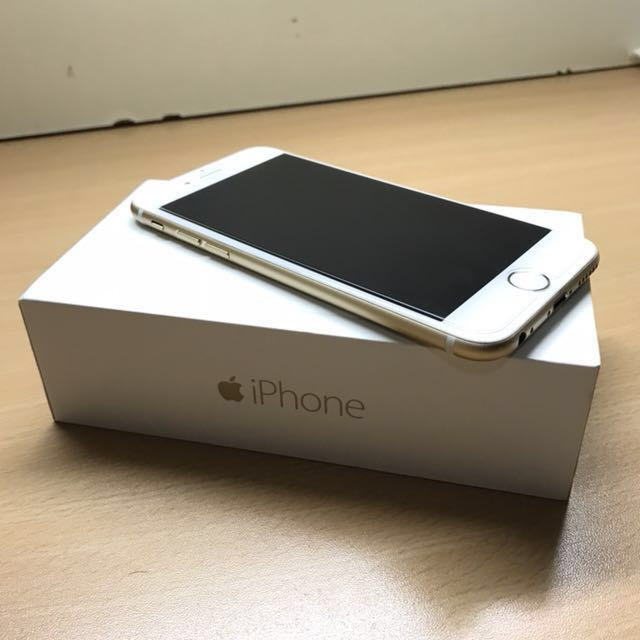 iphone6 128g 土豪金