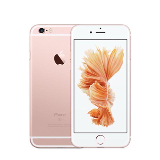 iPhone6S 128G 玫瑰金