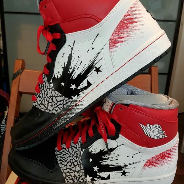 Nike Air Jordan Retro 1 Dave White