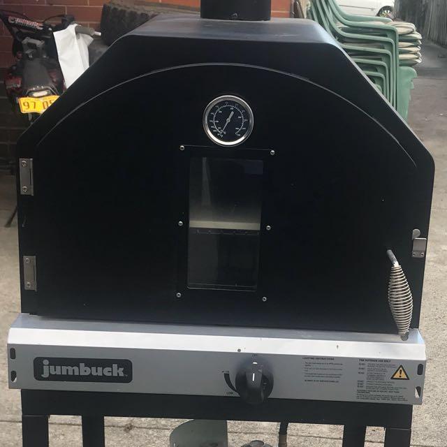 Jumbuck gas pizza oven