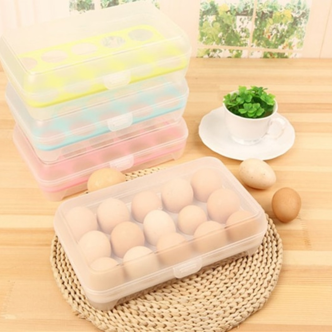 Kotak Telur Isi 15 Egg Box Organizer Daftar Harga Terlengkap Indonesia Golden Sunkist Tempat 12 Holder Storage Case Telor 15pcs Lazada Source Photo
