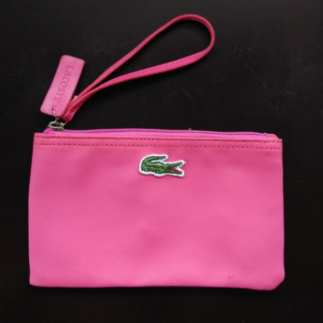 2faae3714db LACOSTE High Imitation Clutch Bag - Pink, Women's Fashion, Bags & Wallets  on Carousell