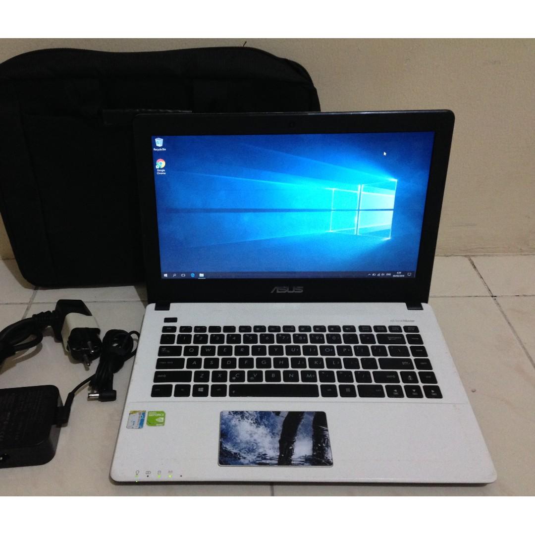 Laptop Asus X450LD Corei5 Ram 4GB Hdd 1TB Nvidia GeForce