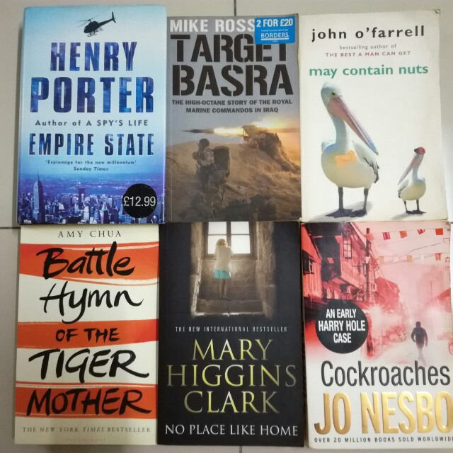Large Paperbacks #FreePostage