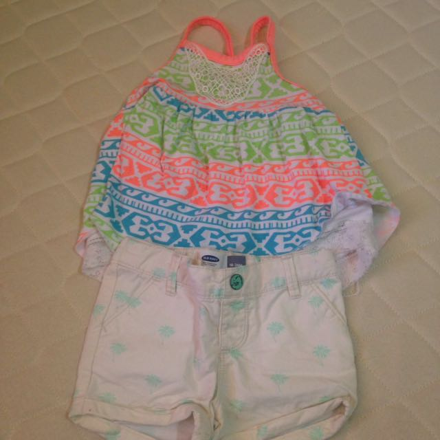 Little Lass and Old Navy summer wear (bundle)