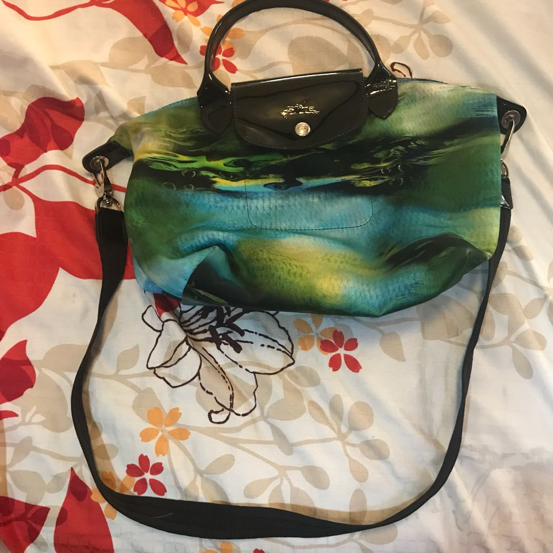 Long champ authentic sling bag (small)