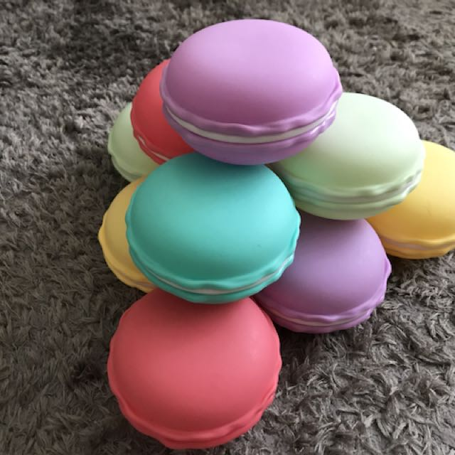 Macaroons Jewellery boxes gift storage unit