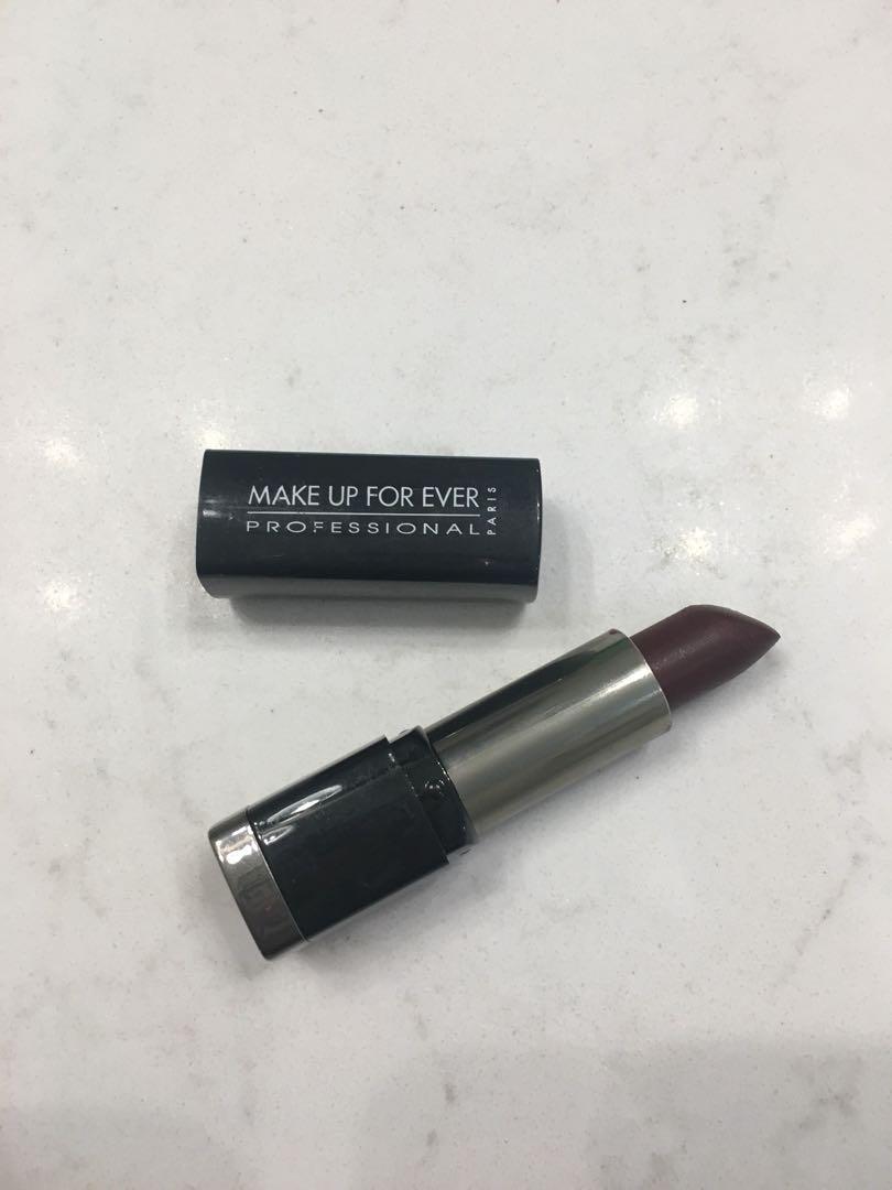 Makeup Forever Oxblood Lipstick
