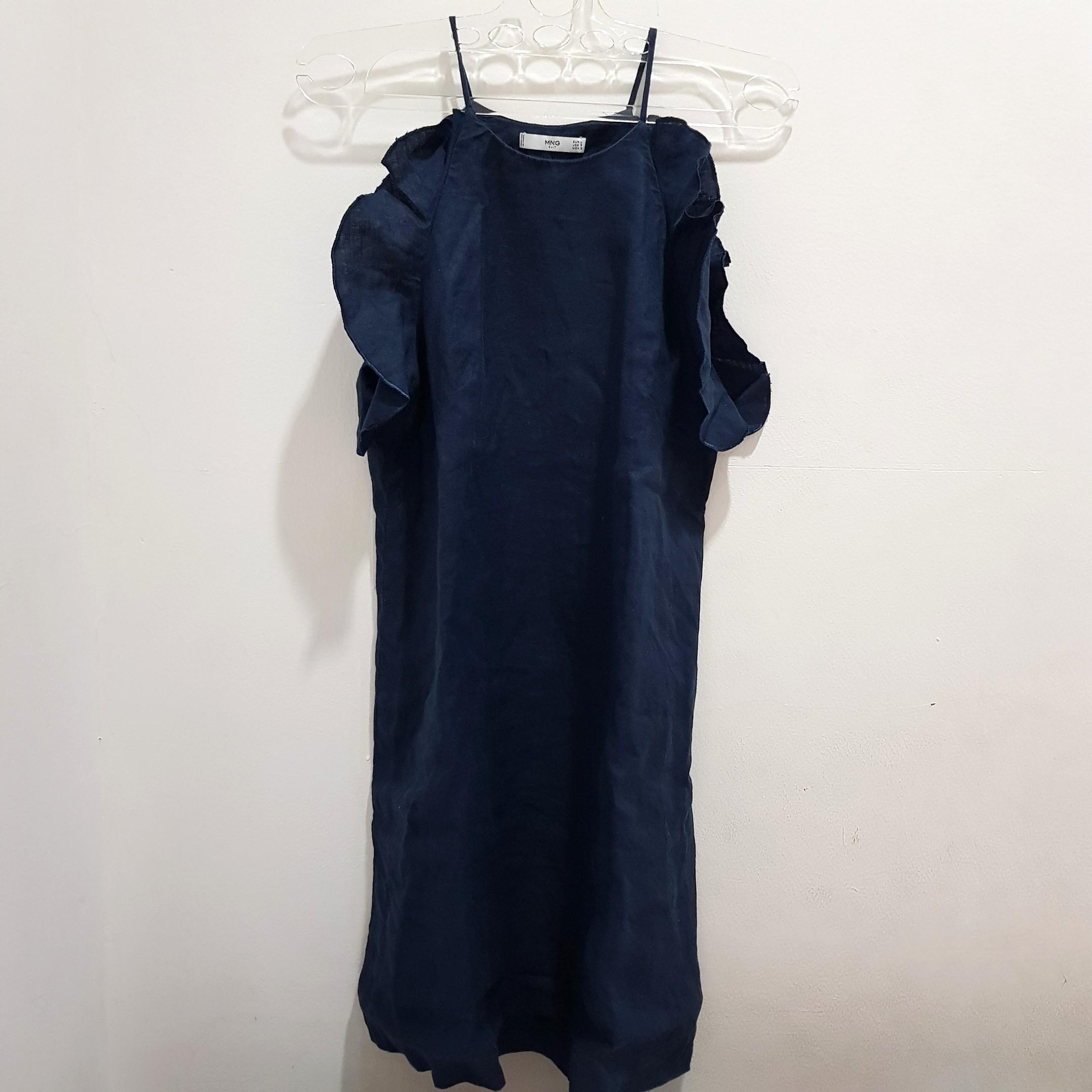 Mango linen dress