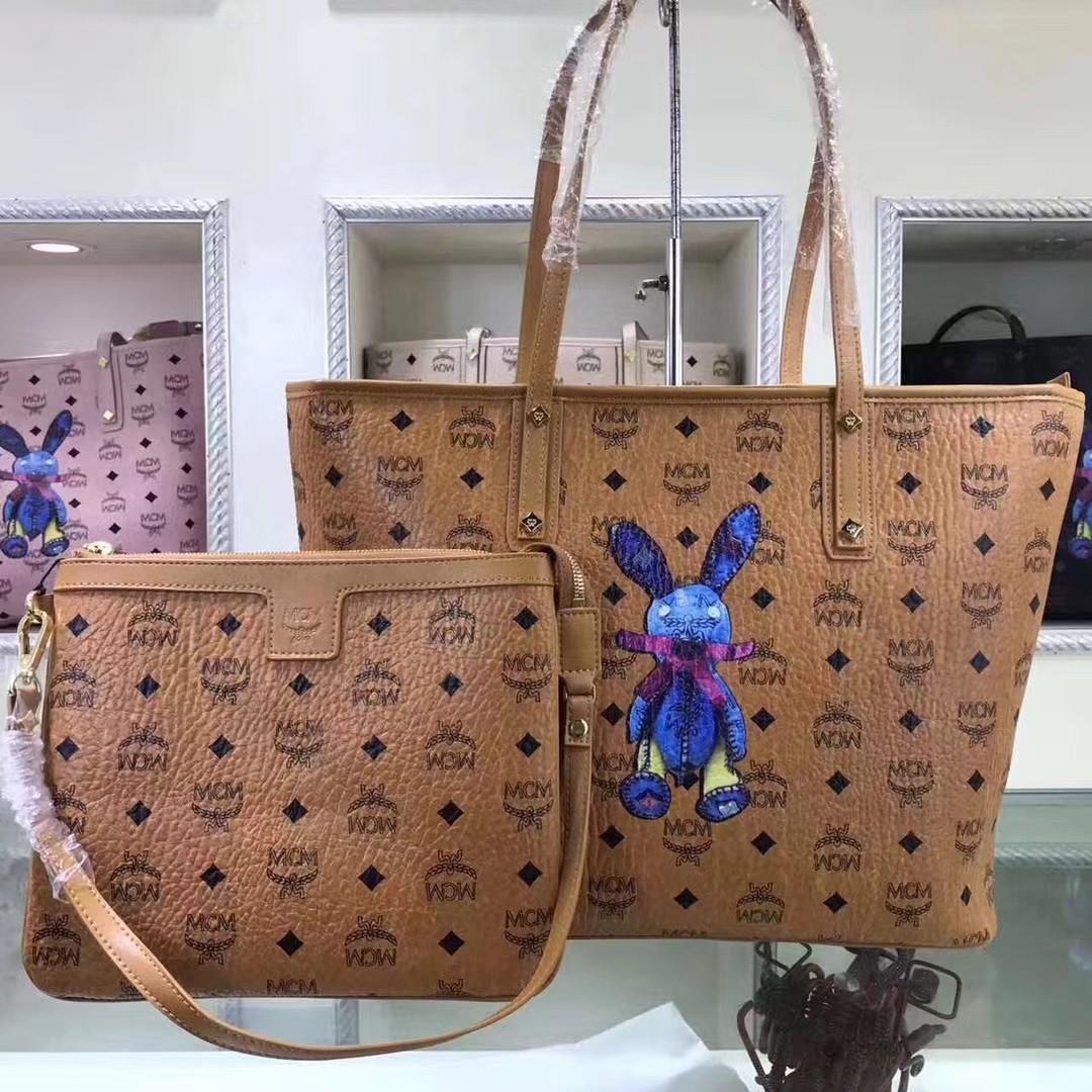 MCM Shopping Tote Bag Set