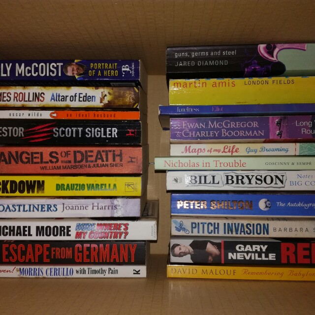 Medium Paperbacks #FreePostage
