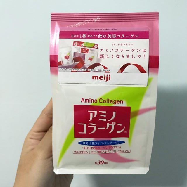 日本代購✈️meiji 明治 膠原蛋白粉