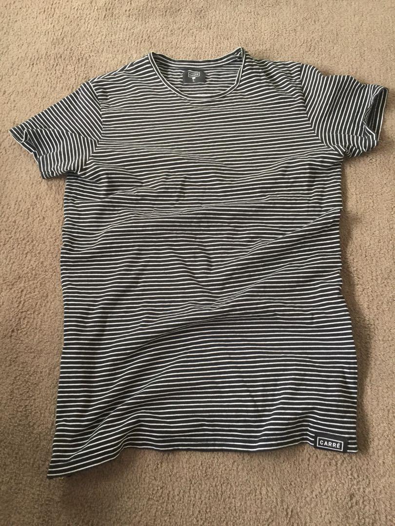 Men's tall T T-shirt striped
