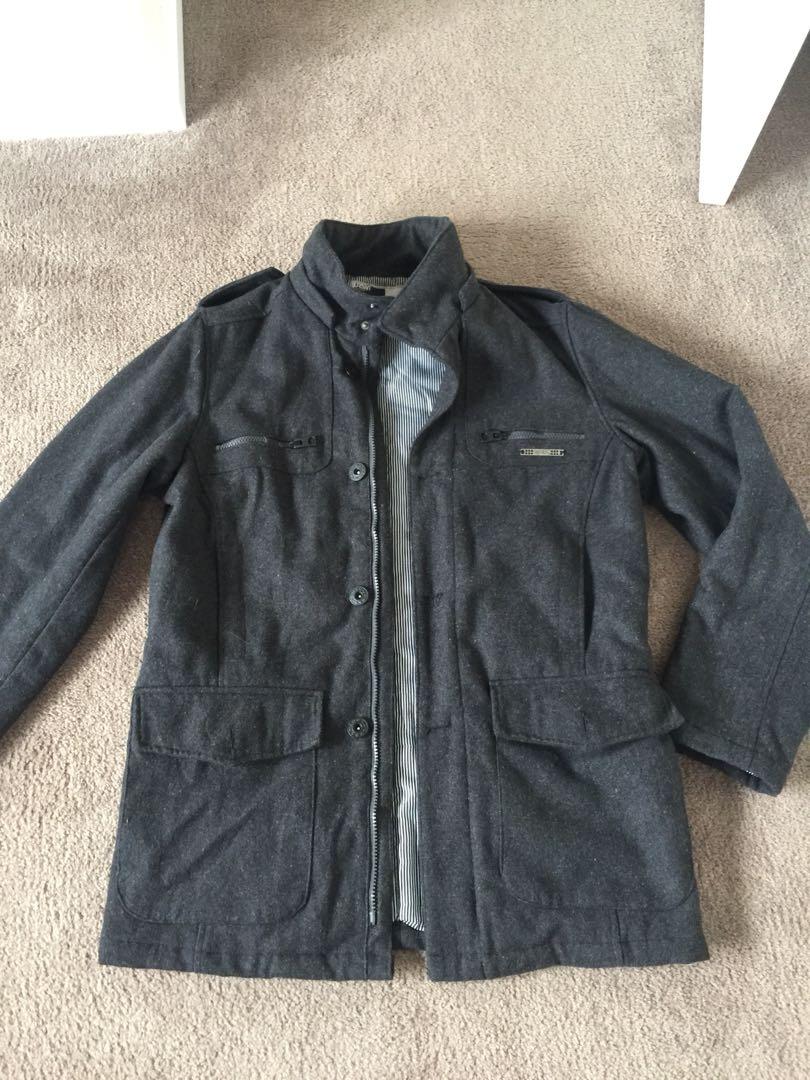 Men's winter jacket coat