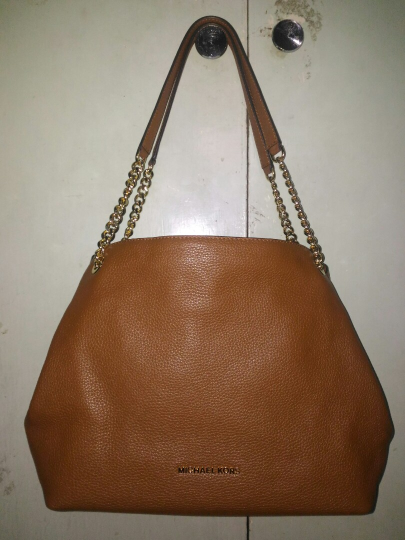 e1a1a6ed026b Michael Kors Jet Set Item Large Shoulder Tote (Luggage)