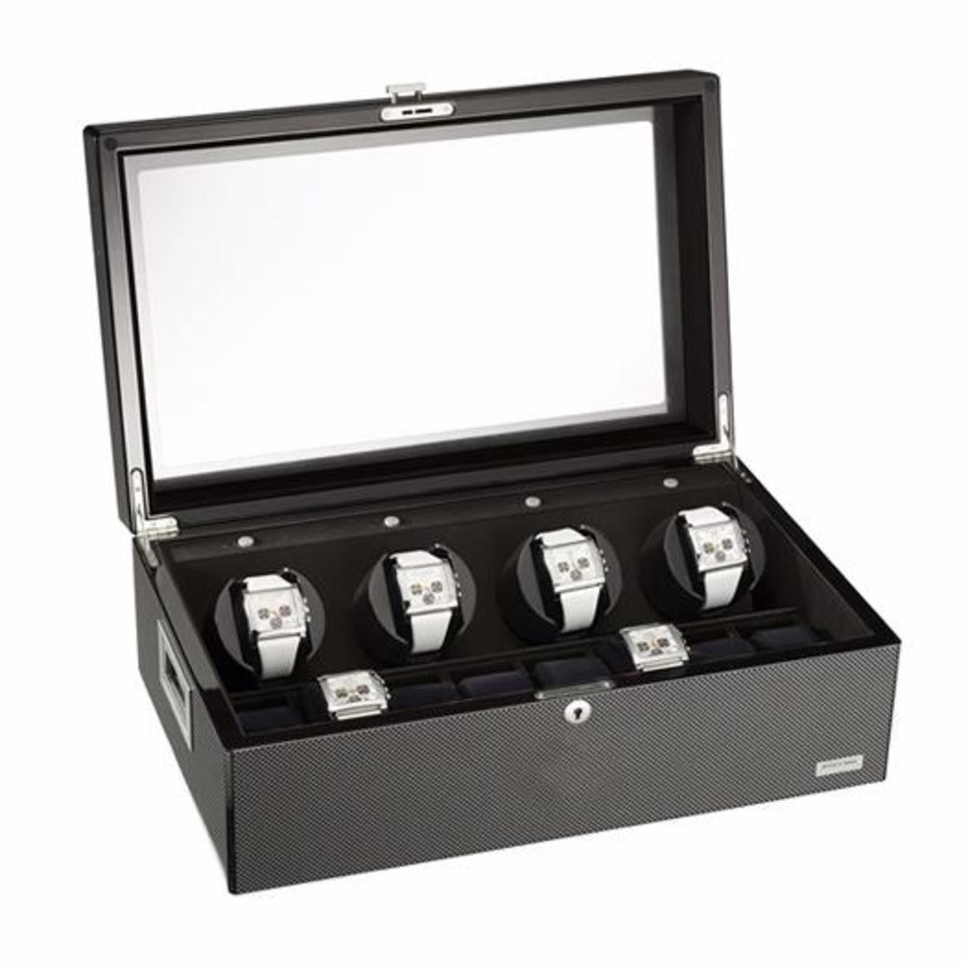 Mitch & Marc 4 Watch Winder (with handles)