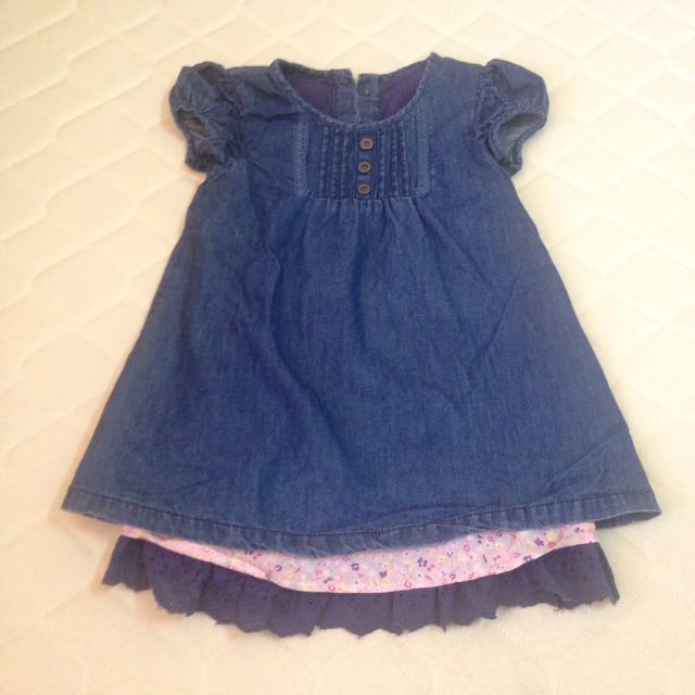 Mother Care denim dress