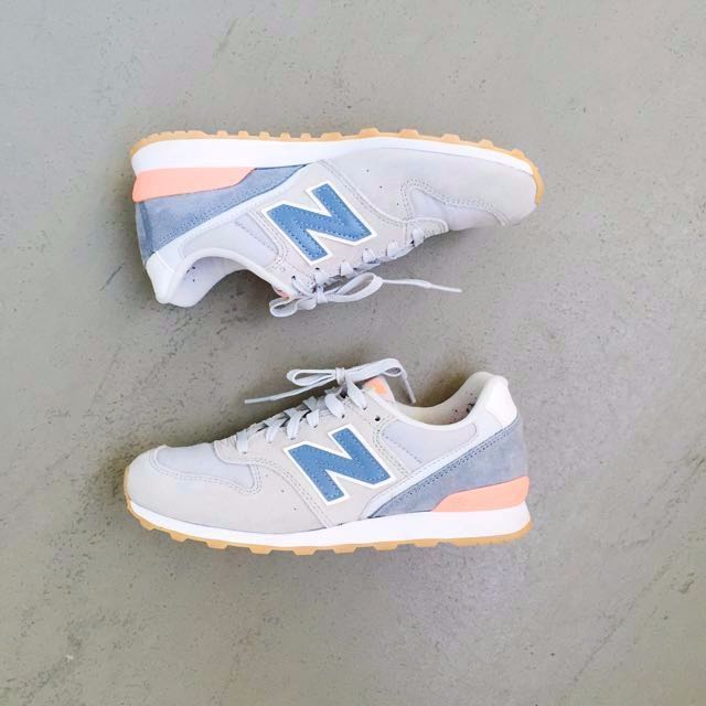 NEW BALANCE 996 WOMENS BRIGHT Sneakers Pastel blue women