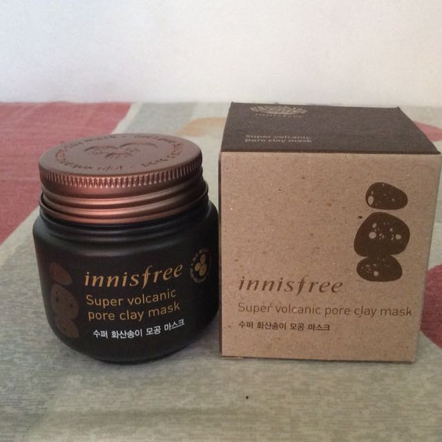 New Innisfree Super volcanic pore clay mask