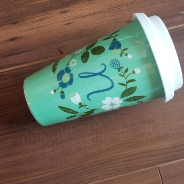New Monogram Coffee Cup