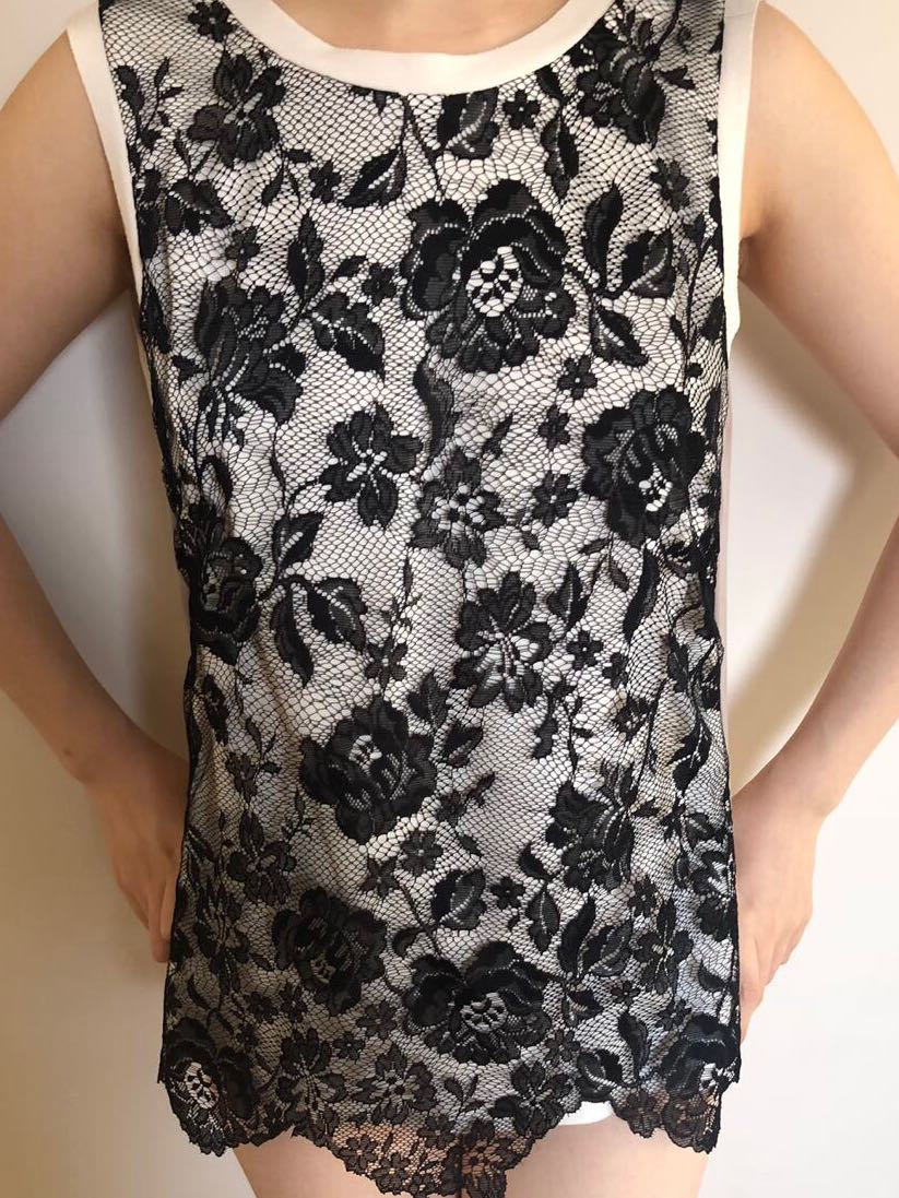 New Zara Lace Top $89