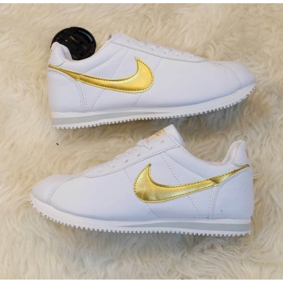 Nike Cortez Women Gray White Grade Ori Olshop Fashion