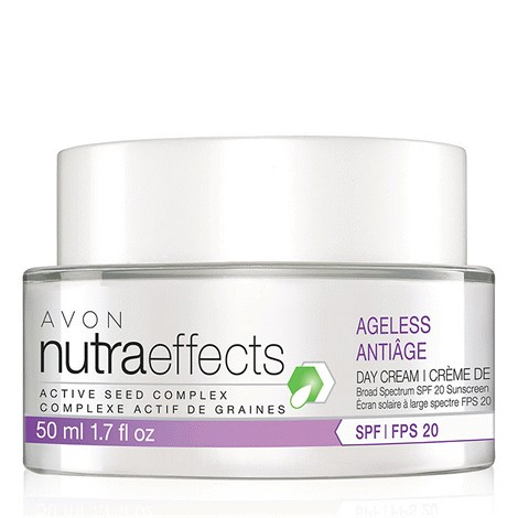 NutraEffects Active Seed Complex Ageless Broad Spectrum SPF 20 Sunscreen Day Cream