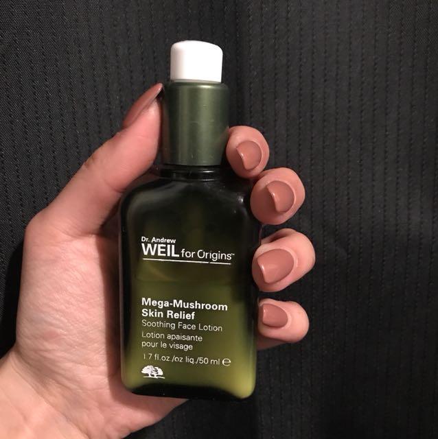 Origins mega mushroom skin relief soothing face lotion RRP$94