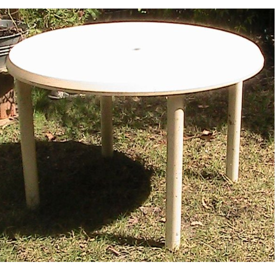 Outdoor Plastic Table