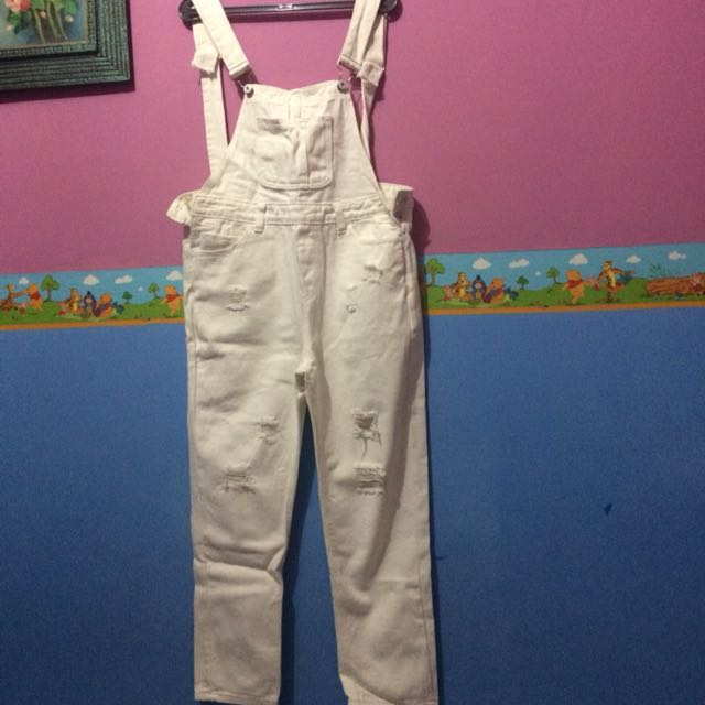 Overall jeans magnolia (REPRICE!!)