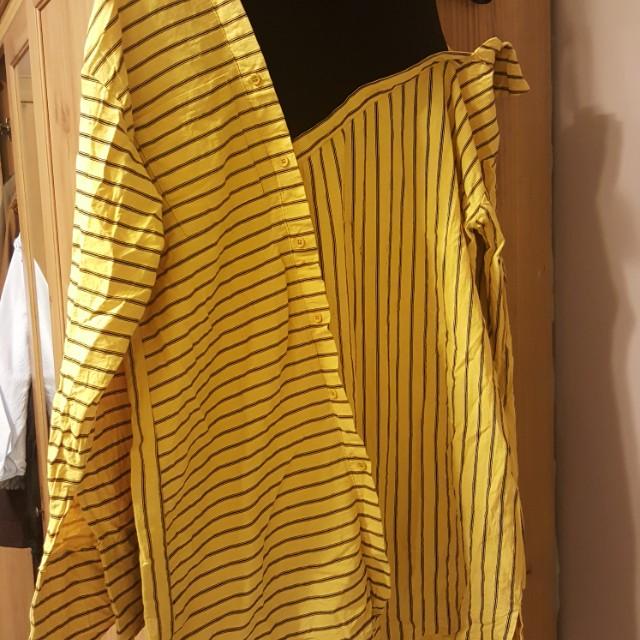 假兩件oversize襯衫可單穿