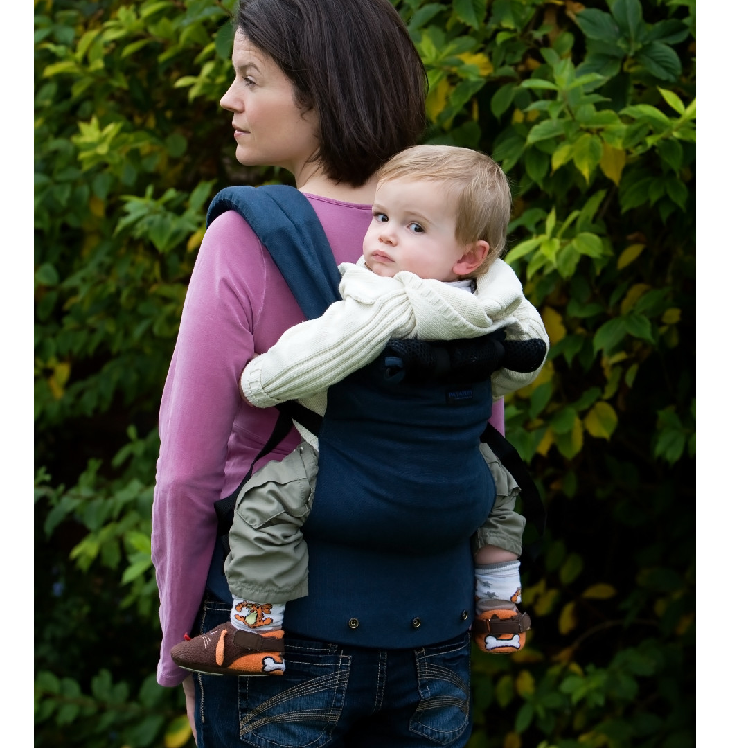 Patapum Baby Carrier From Italy Navy Babies Kids On Carousell