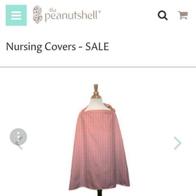 Peanutshell USA brand NEW nursing cover