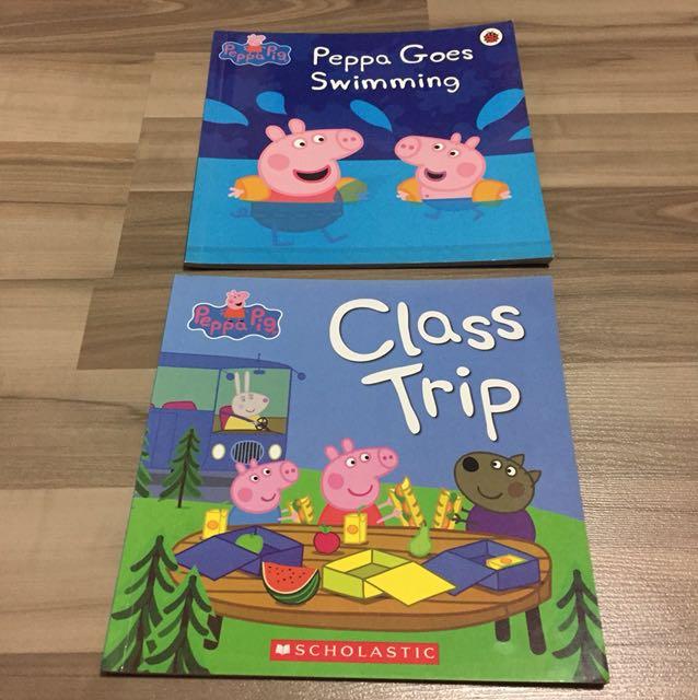 Peppa Goes Swimming And Class Trip Peppa Pig Book