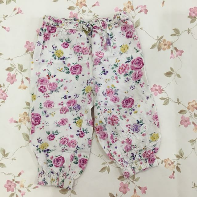 Preloved Mothercare Floral Pants