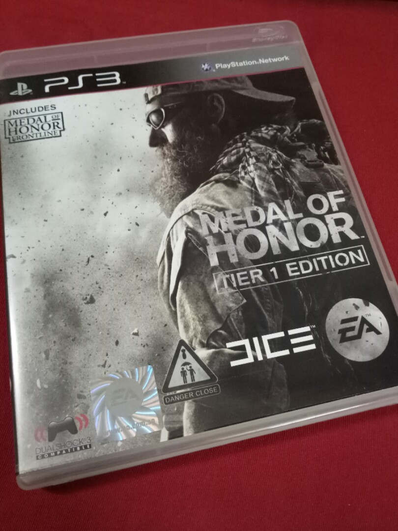 Ps3 Game Medal Of Honor Tier 1 Video Gaming Games On Carousell Ps4 Naruto To Boruto Shinobi Striker Deluxe Edition Region 3 English